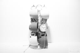 caffe e orologio